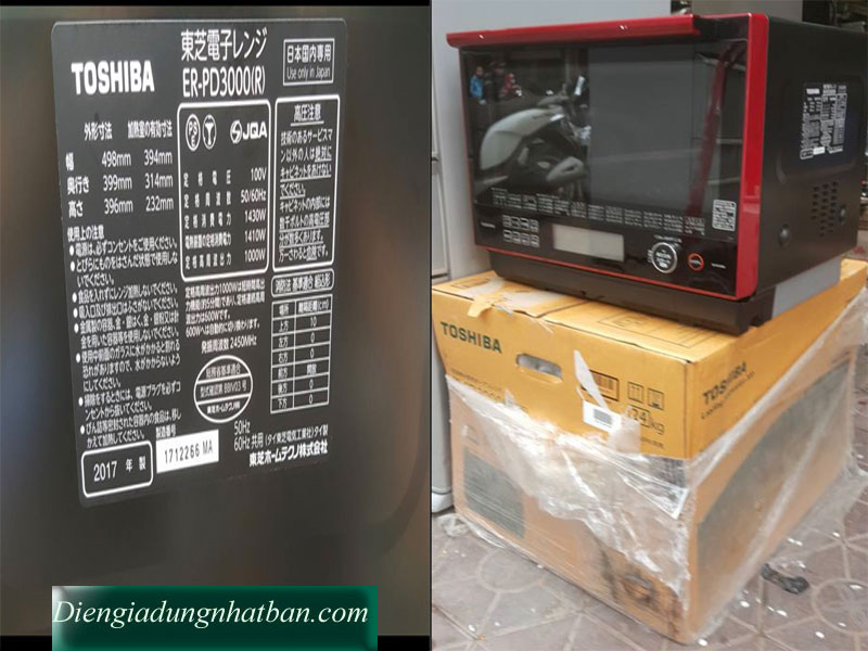 Lo vi song noi dia nhat Toshiba ER PD3000R